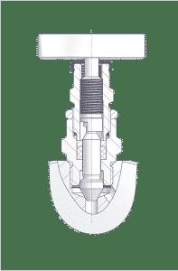 Monoflange with Standard Valve Head Unit.