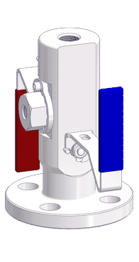 VariAS-Blocks with Block and Bleed Design - Bleed Valve Type: Ball.